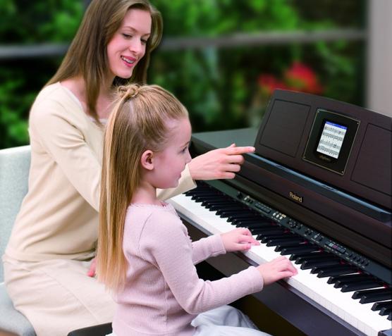 电子钢琴——一对一或一对多